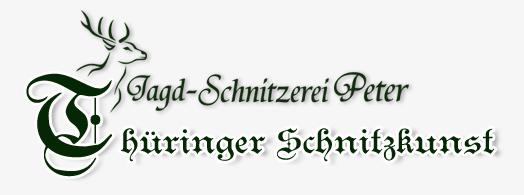 Jagd-Schnitzerei Peter